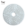 3-Step Flexible Diamond Wet Polishing Pads 3mm Thickness for Stone Marble Granite