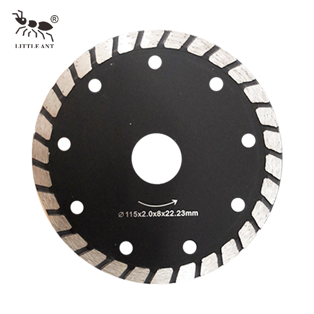 Saw Blade Swirl Granite Marble Protection Cutting Rotary plated