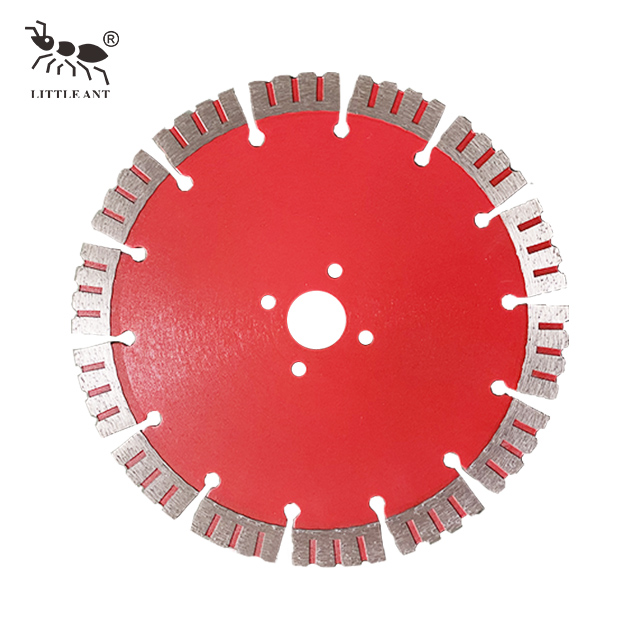 4 Holes Wide Gear Saw Blade Ceramic Granite Marble Protection Manual Cutting